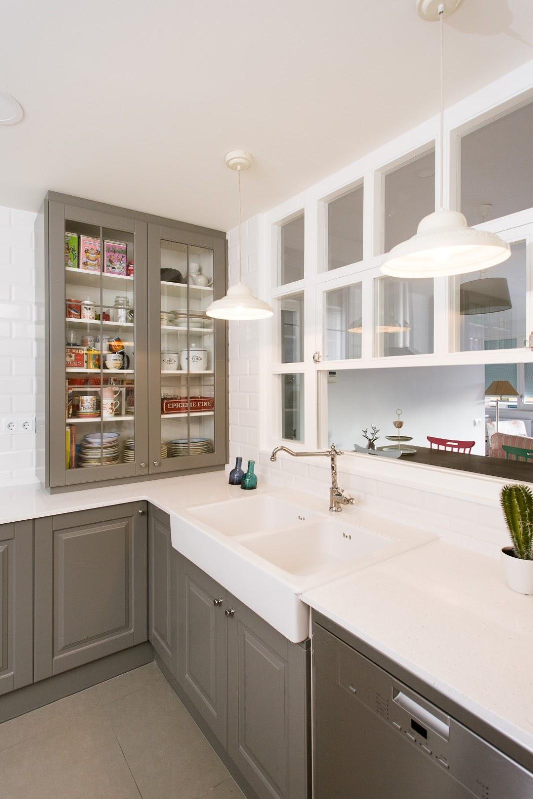 Reformar cocina sin obras simple para poder cambiar el - Cambiar encimera cocina sin obras ...