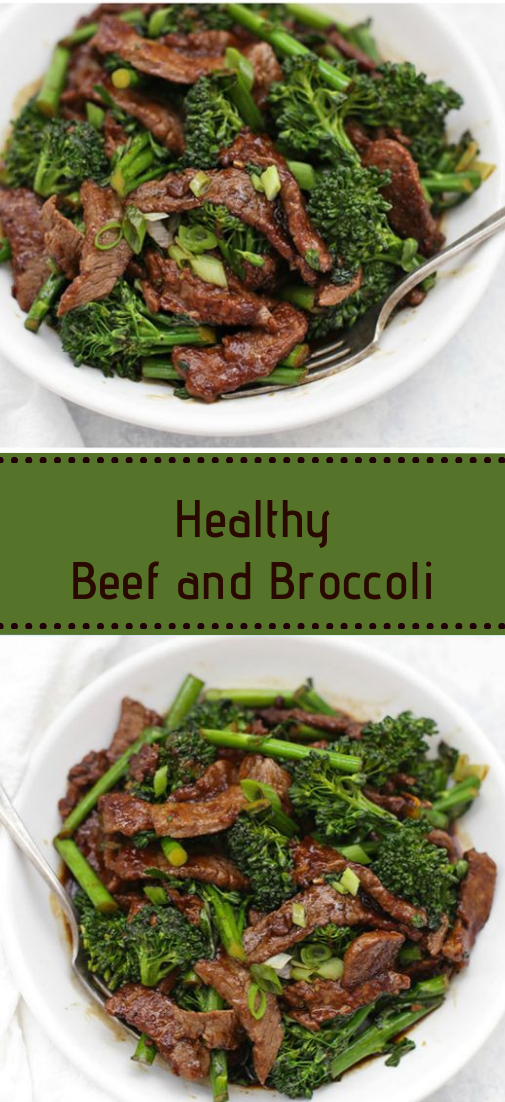 healthy beef and broccoli #healthy #recipe
