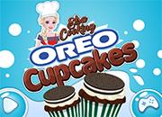 Elsa Cooking Oreo Cupcakes juego
