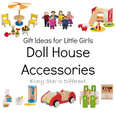Gift Ideas for Little Girls: Doll House Accessories