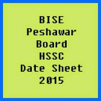 Peshawar Board HSSC Date Sheet 2017, Part 1 and Part 2