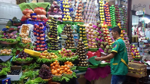 Frutas do Mercadão de São Paulo
