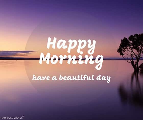 happy morning have a beautiful day