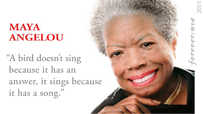 Maya Angelou commemorative stamp