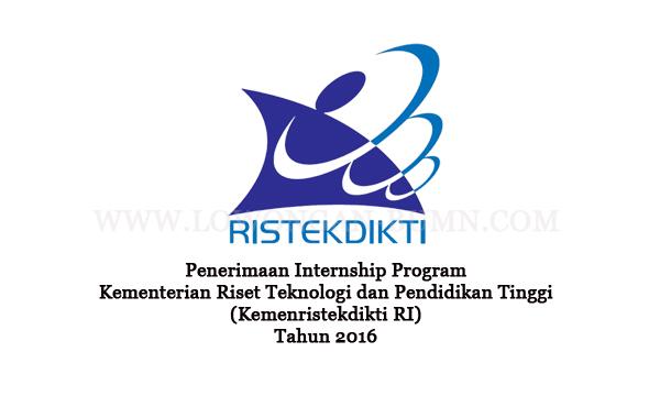 Penerimaan Internship Program Kementerian Riset Teknologi dan Pendidikan Tinggi (Kemenristekdikti RI) Tahun 2016