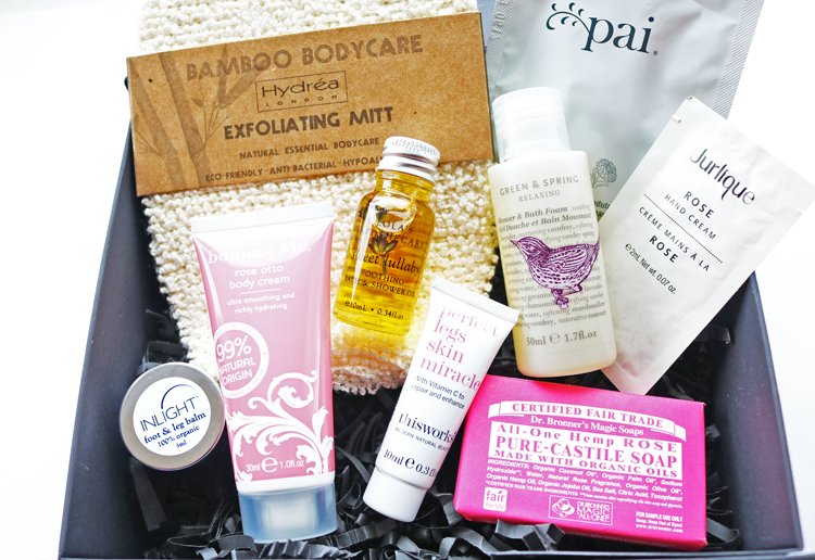 Naturisimo Brilliant Body Discovery Box review