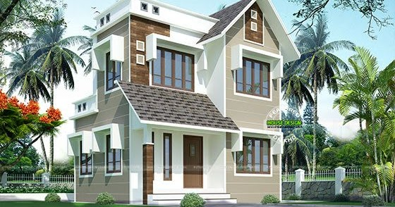 Double Storied House 13 Lakhs Kerala Home Design And