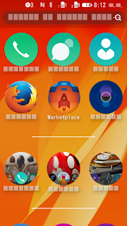 What is Font Tofo, firefox OS screenshot