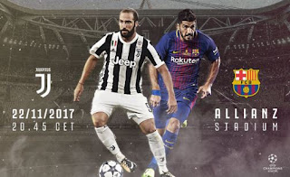 Prediksi Juventus vs Barcelona - Kamis 23/11/2017 Siaran Langsung SCTV