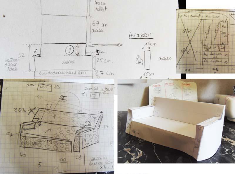 comment faire un patron de housse de canape. Black Bedroom Furniture Sets. Home Design Ideas