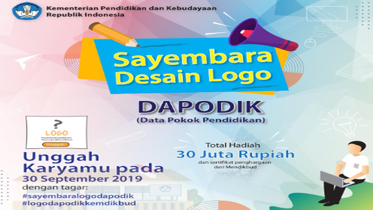 Jago Desain? Tunjukan Bakatmu di Sayembara Desain Logo Dapodik
