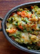 Ricetta Teglia di verdure miste filanti al forno