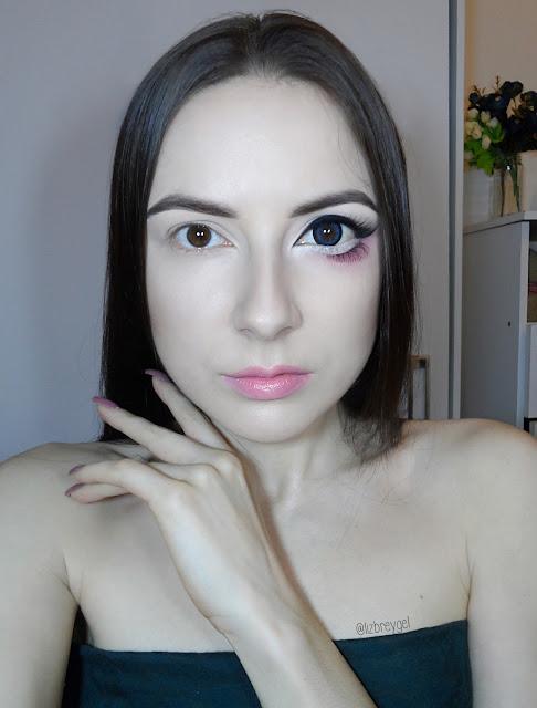 liz breygel circle lens anime doll big eyes eye makeup