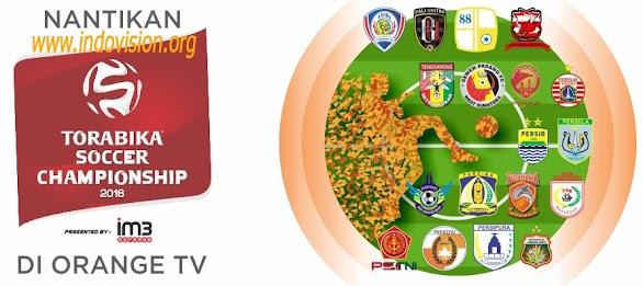 Torabika Soccer Championship Tayang Di Orange TV
