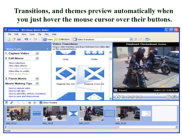 themes preview windows movie maker