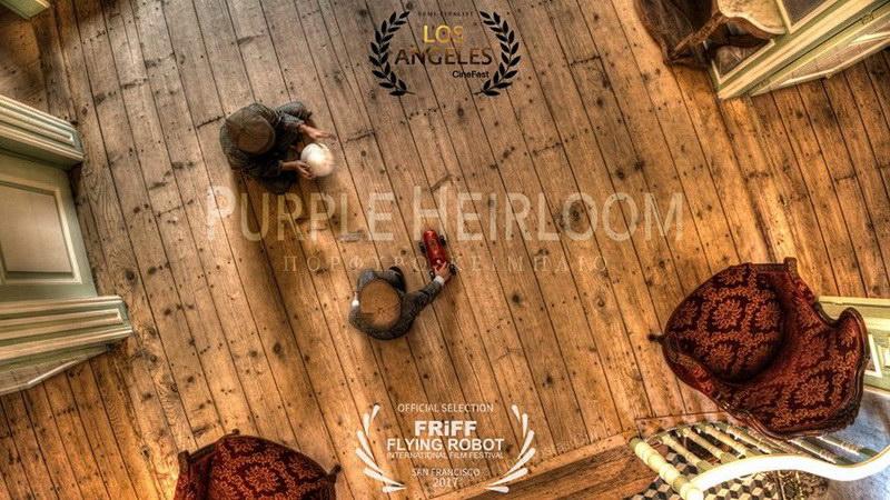 Το Purple Heirloom του Κ. Γκουρλουμένου υποψήφιο για βραβείο σε Διεθνές Φεστιβάλ Κινηματογράφου για Drones