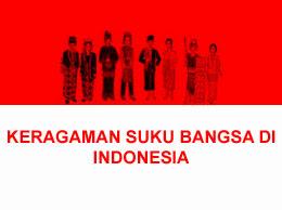 MACAM MACAM SUKU DI INDONESIA, PERSEBARAN & PENJELASANNYA ...