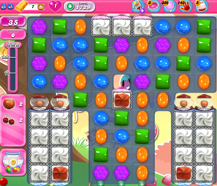 Candy Crush Saga 1729