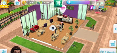 Give, Receive, Collect Stickers Quickly, The Sims Mobile