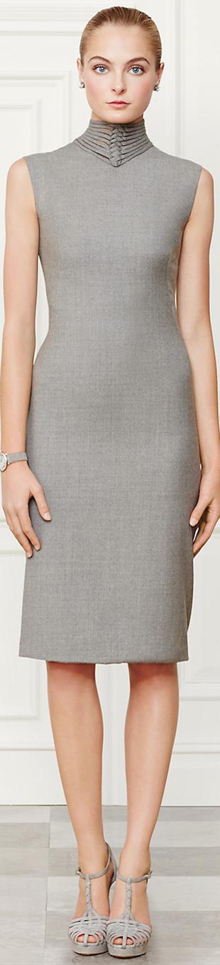 Ralph Lauren Apparel Leanna dress Fall 2014 Collection