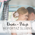 Dorota i Patryk. Błękitno - różowy ślub w Laskowie