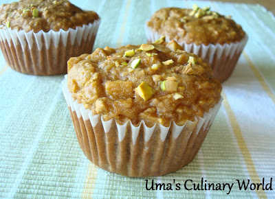 apple oats muffins