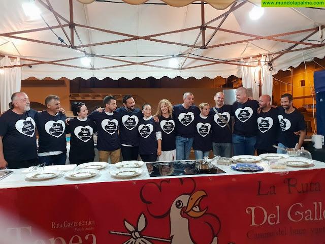 La palmera Mariana Hernández gana el XI Encuentro Regional de Cocineros Canarios