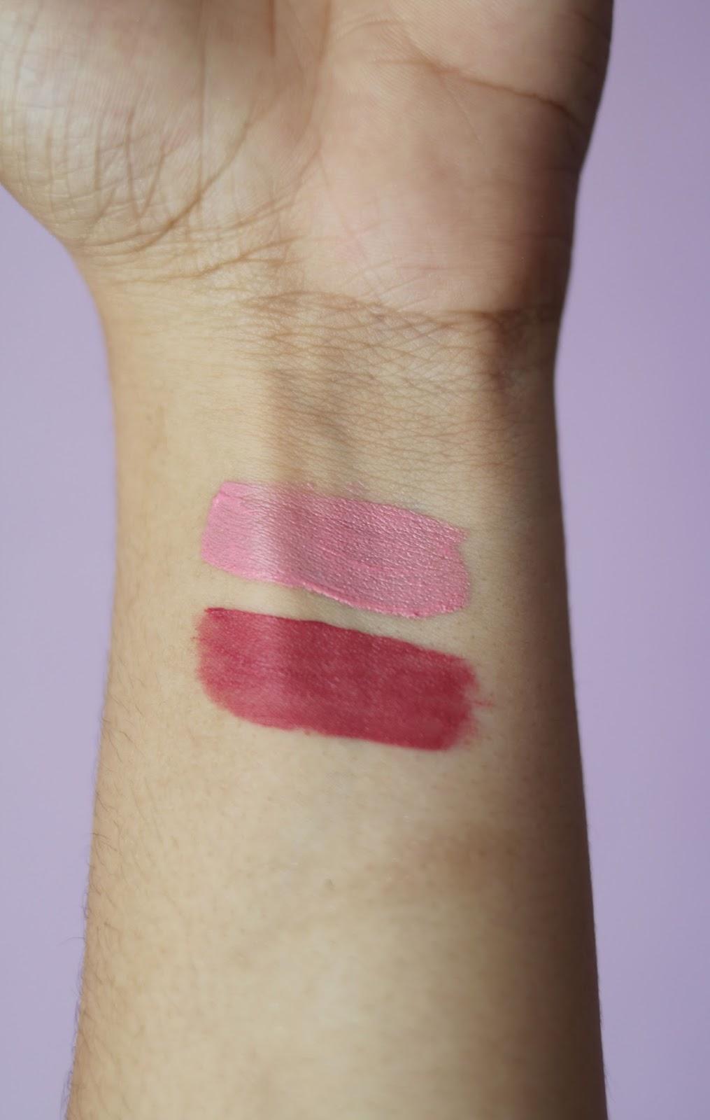 Essence Cosmetics , Essence cosmetiques , Essence , MATT MATT MATT LONGLASTING LIPGLOSS , revue , avis , rosemademoiselle , rose mademoiselle , blog beauté , paris , revue , avis , france , swatch ,