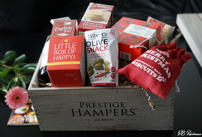 'Christmas Tradition' hamper from Prestige Hampers