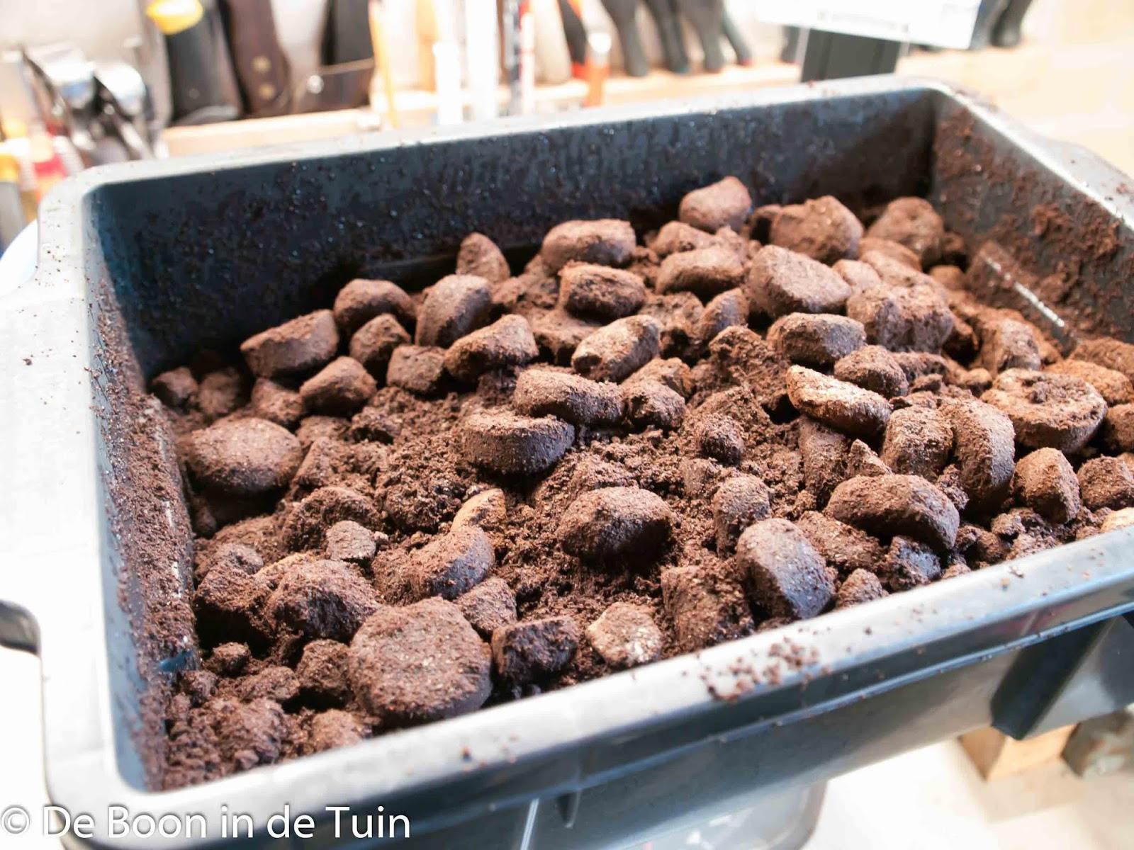 koffiedik drab prut moestuin volkstuin vruchtbaar