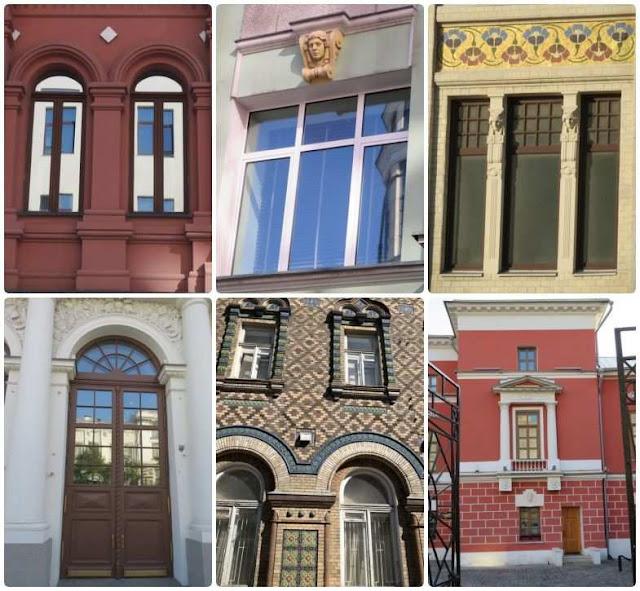 JANELAS de MOSCOVO