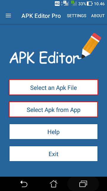 Cara edit aplikasi android dengan apk editor