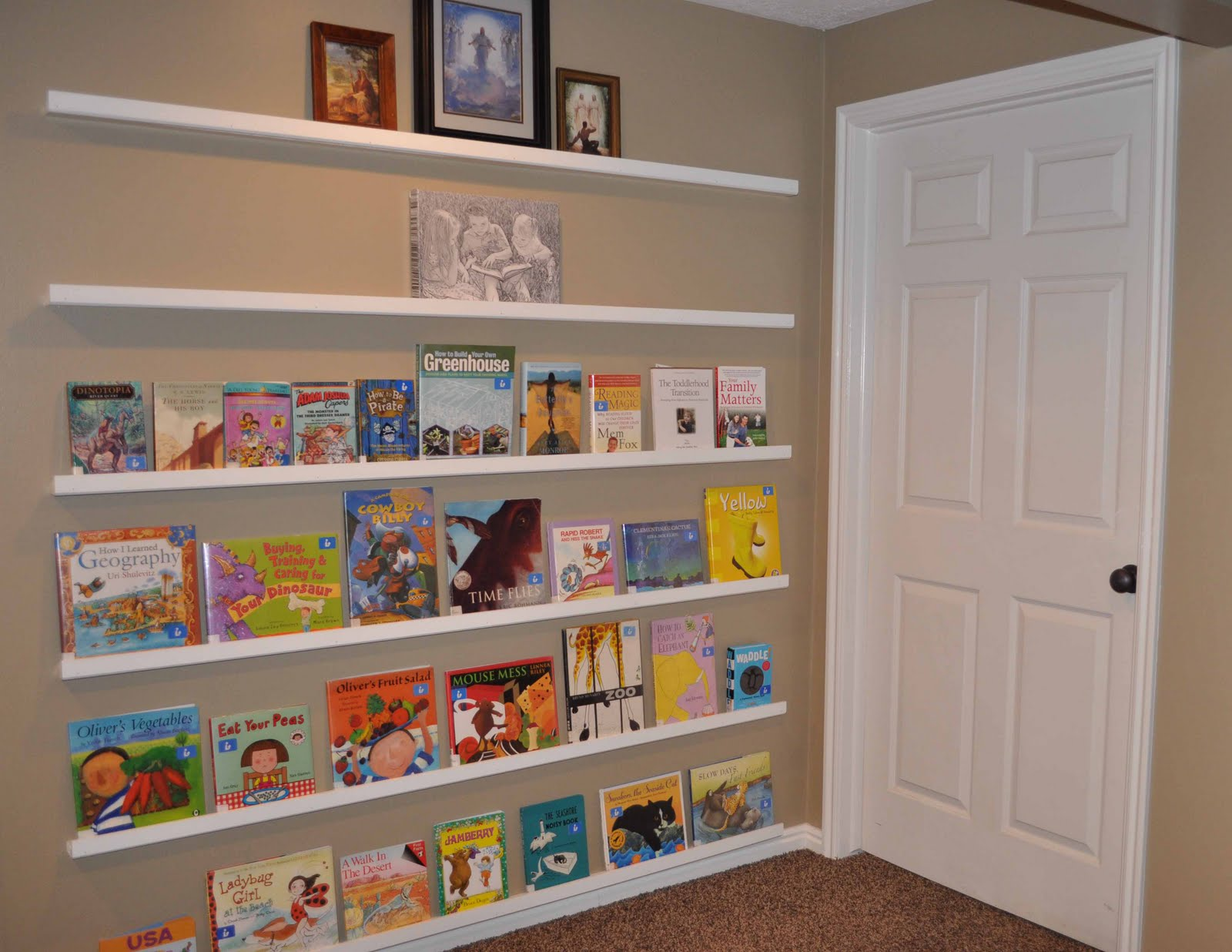 Book Shelfs Face Out Bookshelves {ideas And Tutorial} - Chronicles Of