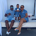 Actress Uche Nnanna, her hubby and son rock denim on denim on family outing (photos)