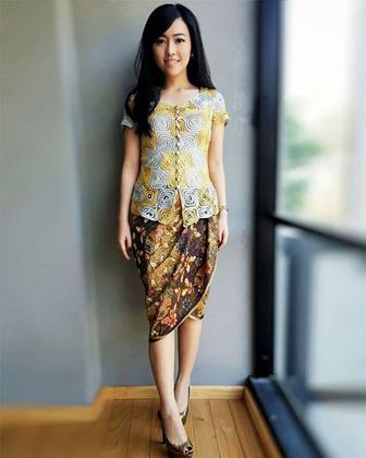 Inilah Contoh Model Baju Kebaya Untuk Wanita Tubuh Gemuk Dan Pendek