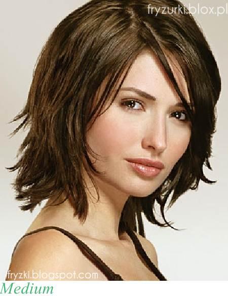 Wwwwlosyes Katalog Modnych Fryzur średnie Włosy