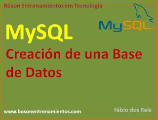 MySQL - Creación de una base de datos