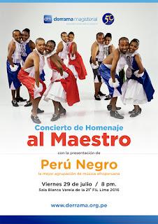 Fiestas Patrias con Perú Negro en la Feria del Libro