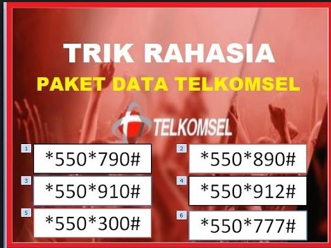 Kode Paket Internet Super Murah Telkomsel 2017 100% Work