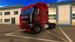 Metalic Costum paint jobs for Freightliner Argosy Reworked