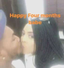 orits1 - ENTERTAINMENT: Oritsefemi Shares Romantic Kiss With His Wife To Celebrate 4th Month Wedding Anniversary (Photos)