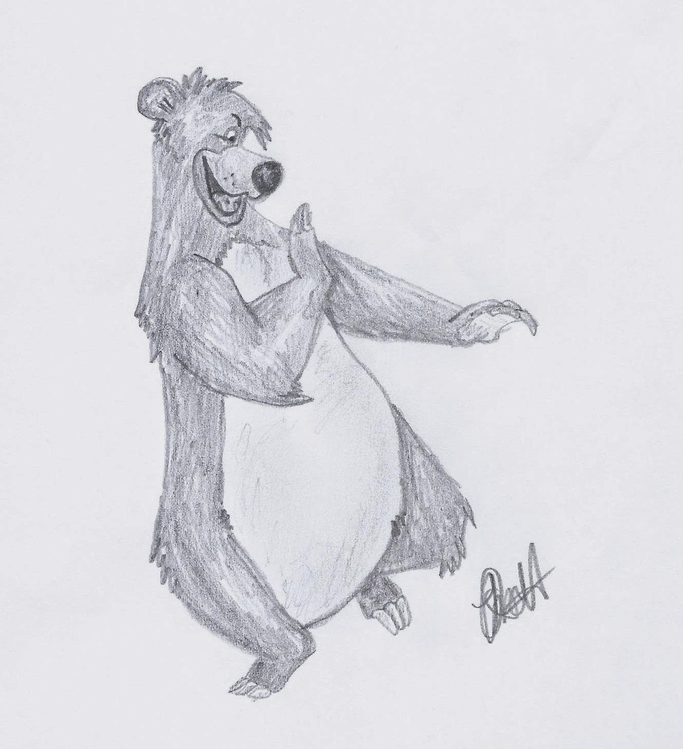 Disney Study: The Jungle Book. Baloo #Disney