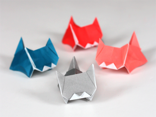 Cuteness alert: more kitten origami | How About Orange - photo#49