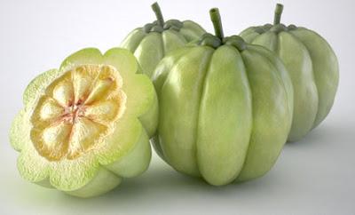 شكل فاكهة الجارسينيا كامبوجيا