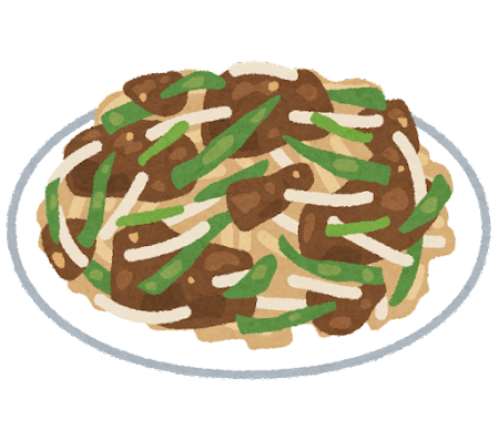 レバニラ炒めのイラスト