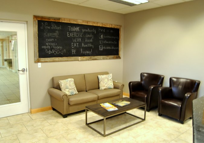 chiropractic office waiting room