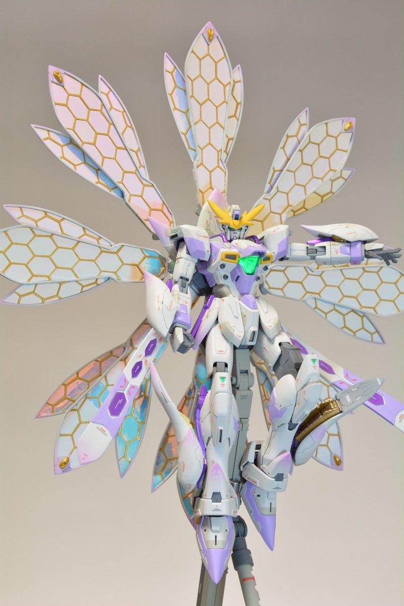 "Custom Build: MG 1/100 Gundam X ""Tsukishimi"" [GBWC 2018 Entry] - Gundam Kits Collection News and Reviews"