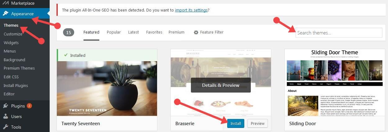 WordPress Themeअपलोड कैसे करते हैं