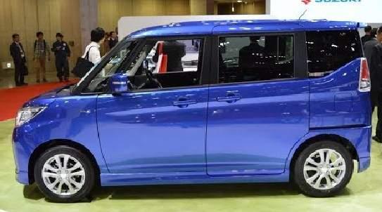 New Suzuki Solio 2018 Dengan Pintu Geser
