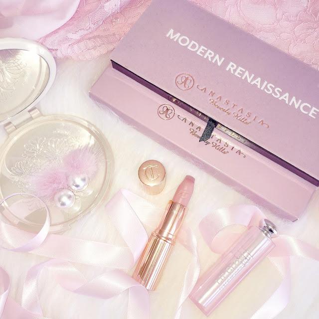 Anastasia Beverly Hills Modern Renaissance & Charlotte Tilbury Kim K.W. Lipstick